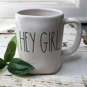 Rae Dunn HEY GIRL coffee mug